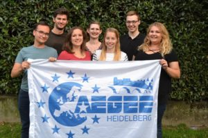 The current board of AEGEE-Heidelberg
